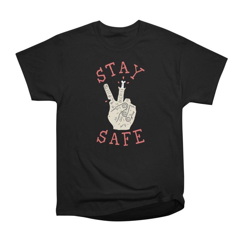 Stay Safe Women's Heavyweight Unisex T-Shirt by Rupertbeard