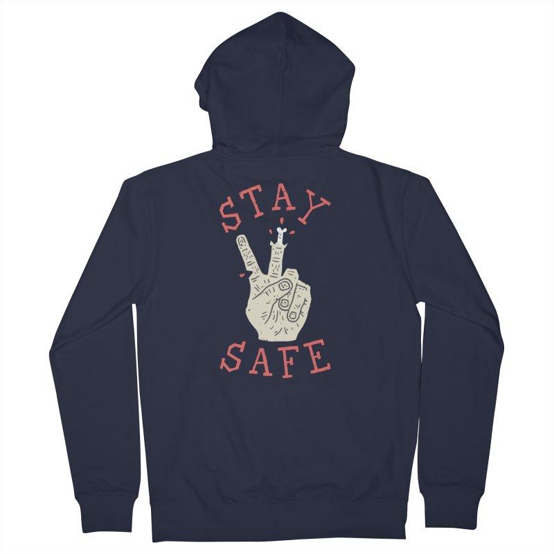 Stay Safe Women's Zip-Up Hoody by Rupertbeard