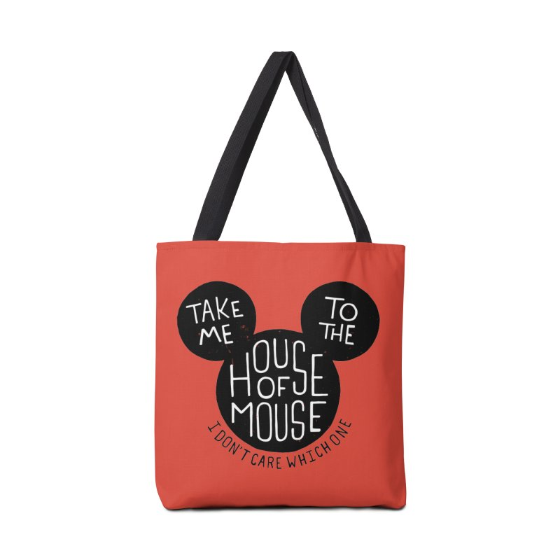 Take Me To The House Of Mouse Accessories Bag by Rupertbeard