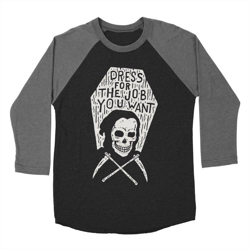 Dress For The Job You Want Women's Baseball Triblend Longsleeve T-Shirt by Rupertbeard
