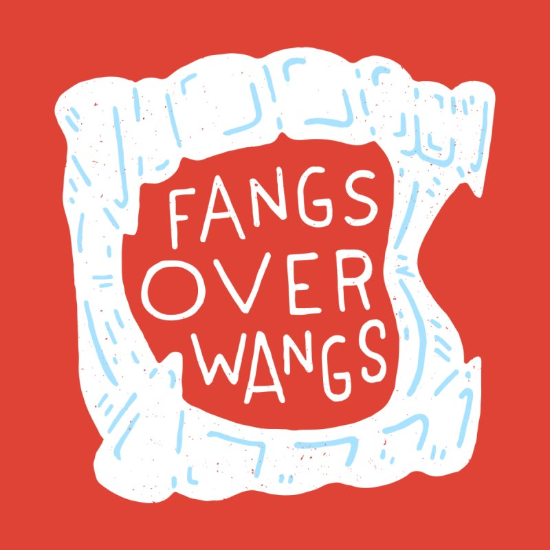 Fangs Over Wangs Accessories Sticker by Rupertbeard