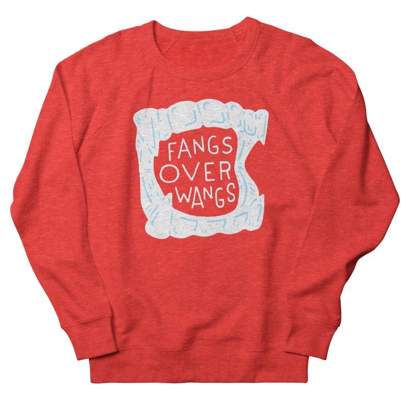 Fangs Over Wangs Women's Sweatshirt by Rupertbeard