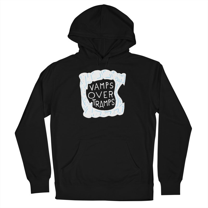 Vamps Over Tramps Men's French Terry Pullover Hoody by Rupertbeard