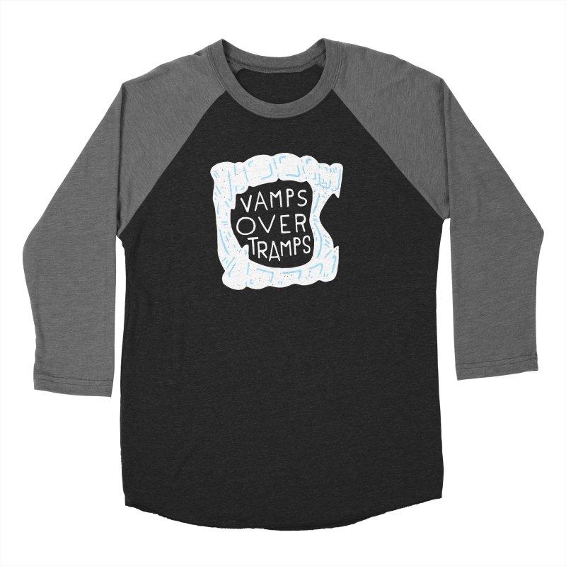 Vamps Over Tramps Women's Baseball Triblend Longsleeve T-Shirt by Rupertbeard