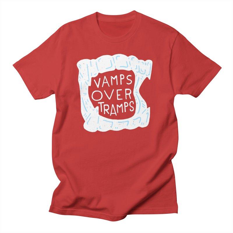 Vamps Over Tramps Men's Regular T-Shirt by Rupertbeard