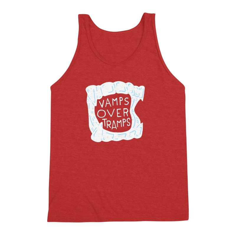 Vamps Over Tramps Men's Triblend Tank by Rupertbeard
