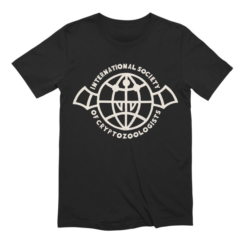International Society of Cryptozoologists Men's Extra Soft T-Shirt by Rupertbeard