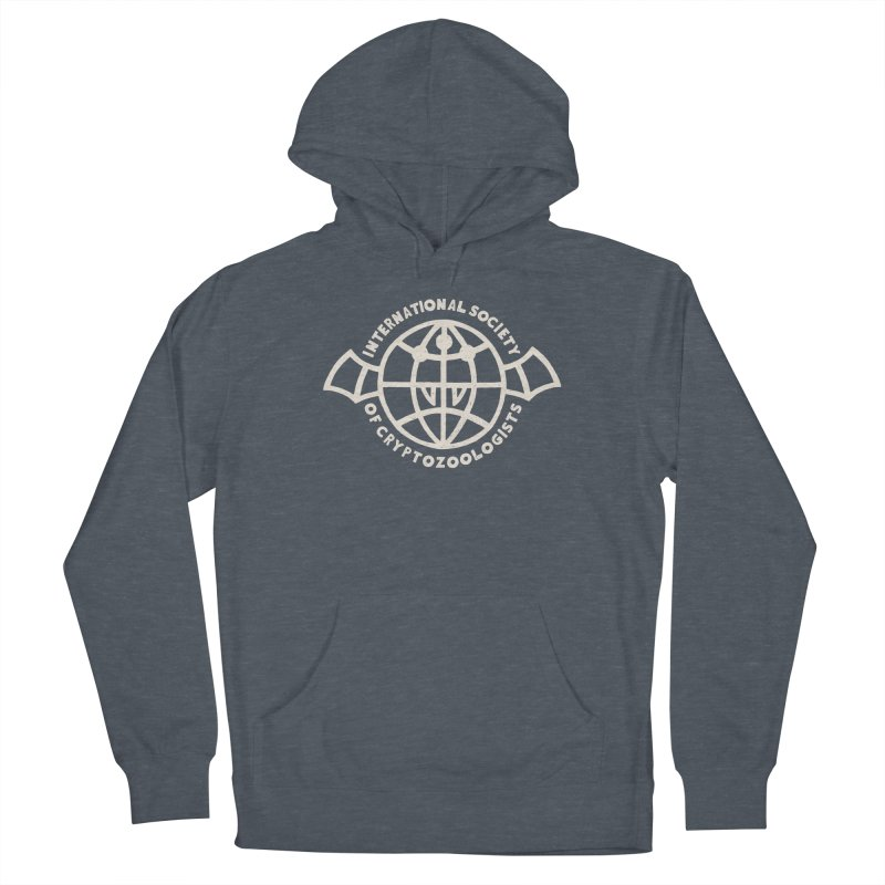 International Society of Cryptozoologists Men's French Terry Pullover Hoody by Rupertbeard
