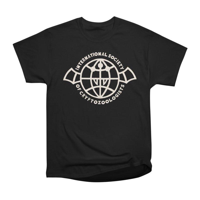 International Society of Cryptozoologists Women's Heavyweight Unisex T-Shirt by Rupertbeard