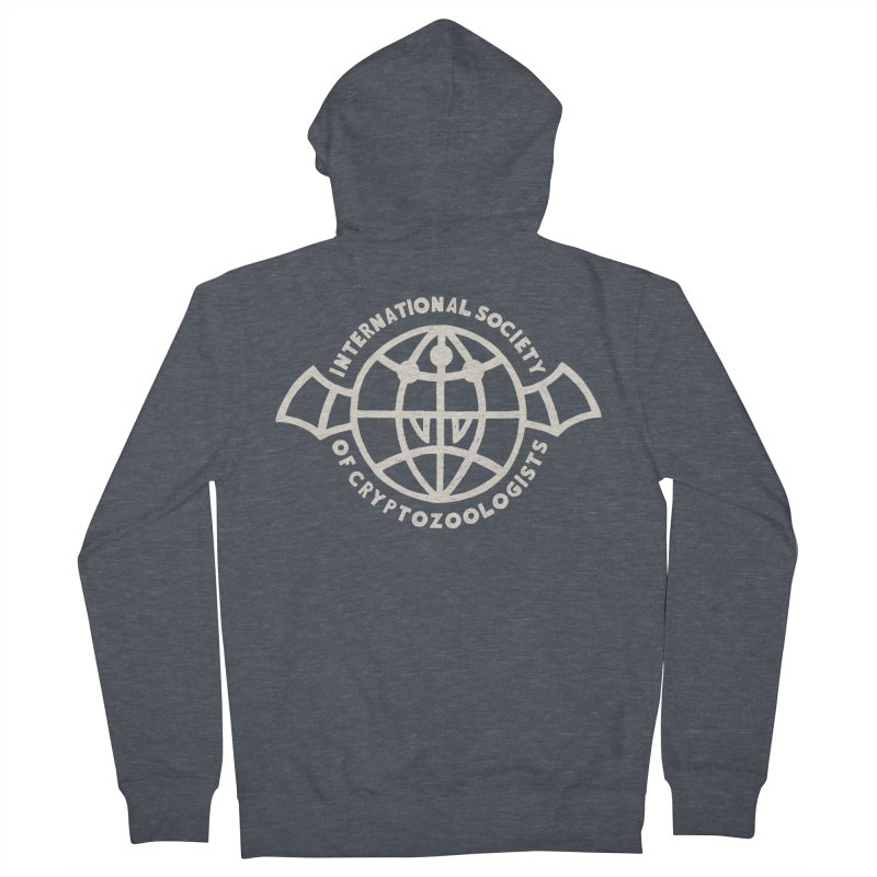 International Society of Cryptozoologists Men's French Terry Zip-Up Hoody by Rupertbeard