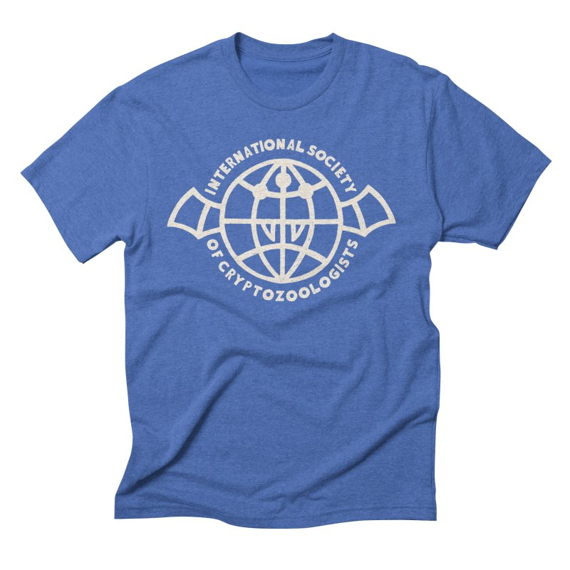 International Society of Cryptozoologists Men's Triblend T-Shirt by Rupertbeard