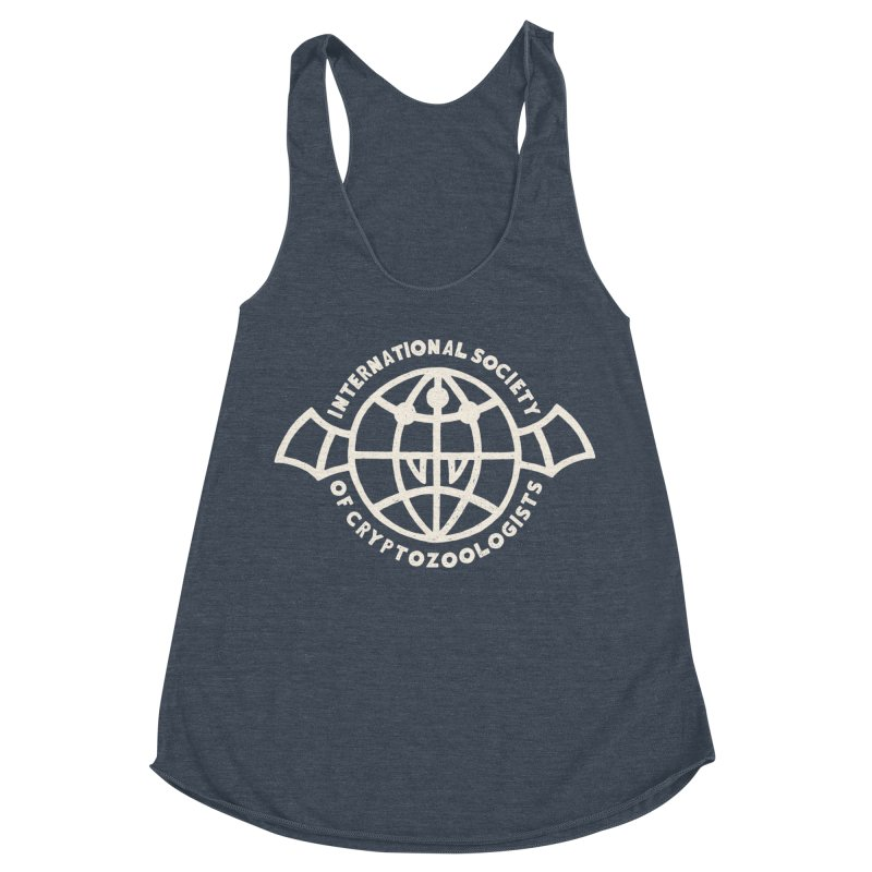 International Society of Cryptozoologists Women's Racerback Triblend Tank by Rupertbeard
