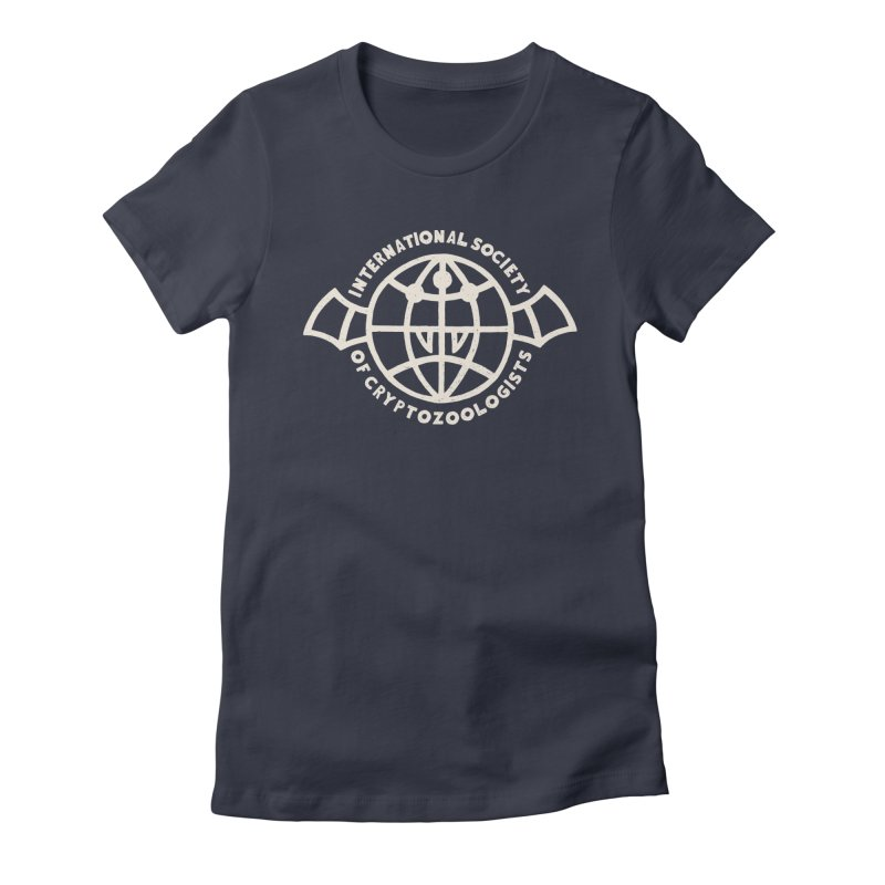 International Society of Cryptozoologists Women's Fitted T-Shirt by Rupertbeard