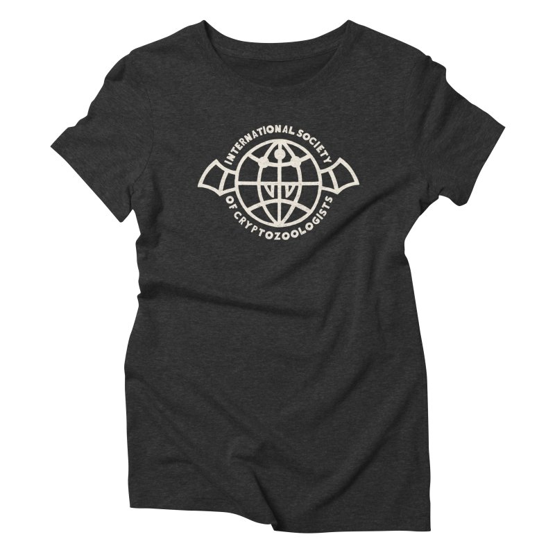 International Society of Cryptozoologists Women's Triblend T-Shirt by Rupertbeard