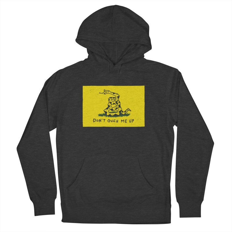 Don't Ouch Me Up Men's French Terry Pullover Hoody by Rupertbeard