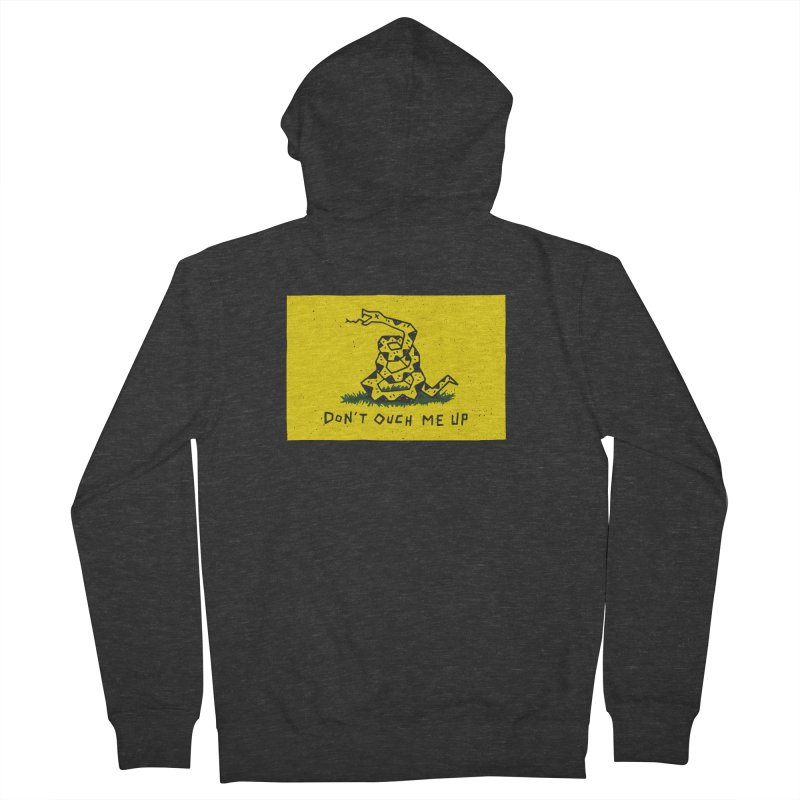 Don't Ouch Me Up Men's French Terry Zip-Up Hoody by Rupertbeard