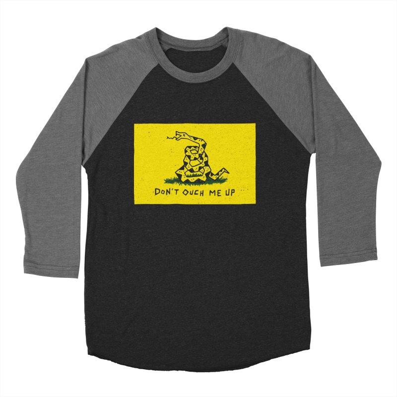 Don't Ouch Me Up Women's Baseball Triblend Longsleeve T-Shirt by Rupertbeard