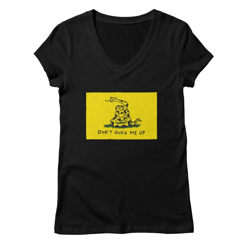 Don't Ouch Me Up Women's Regular V-Neck by Rupertbeard