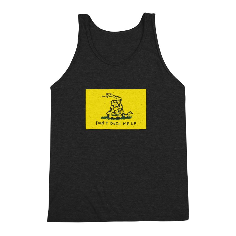 Don't Ouch Me Up Men's Triblend Tank by Rupertbeard