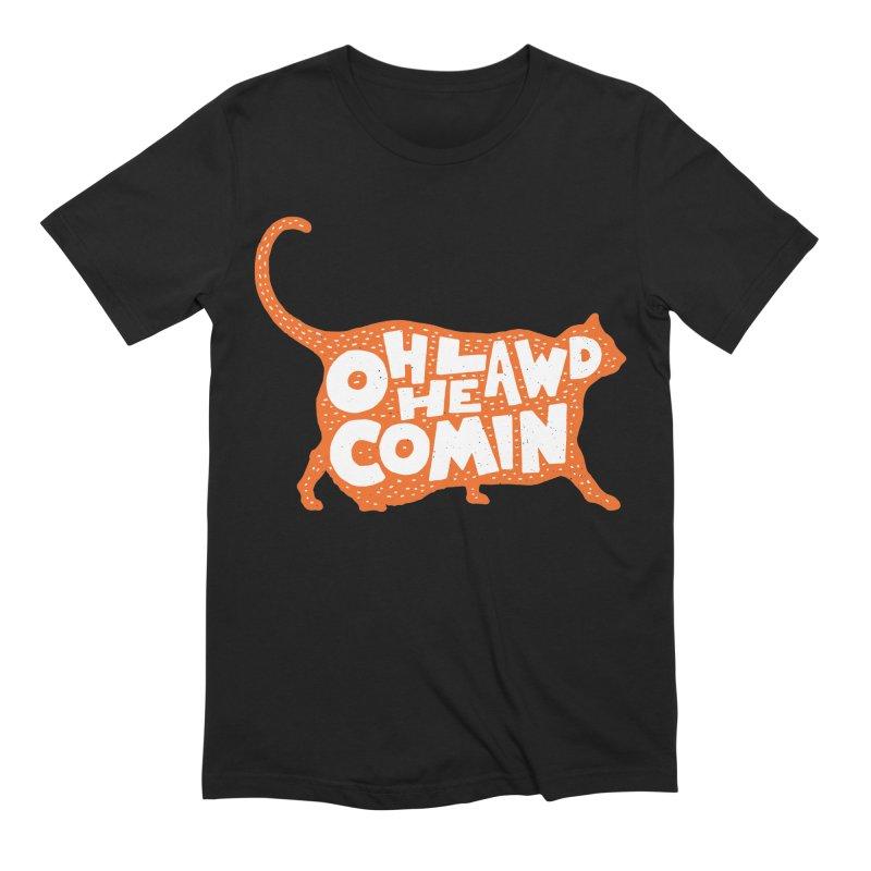 Oh Lawd He Comin Men's Extra Soft T-Shirt by Rupertbeard