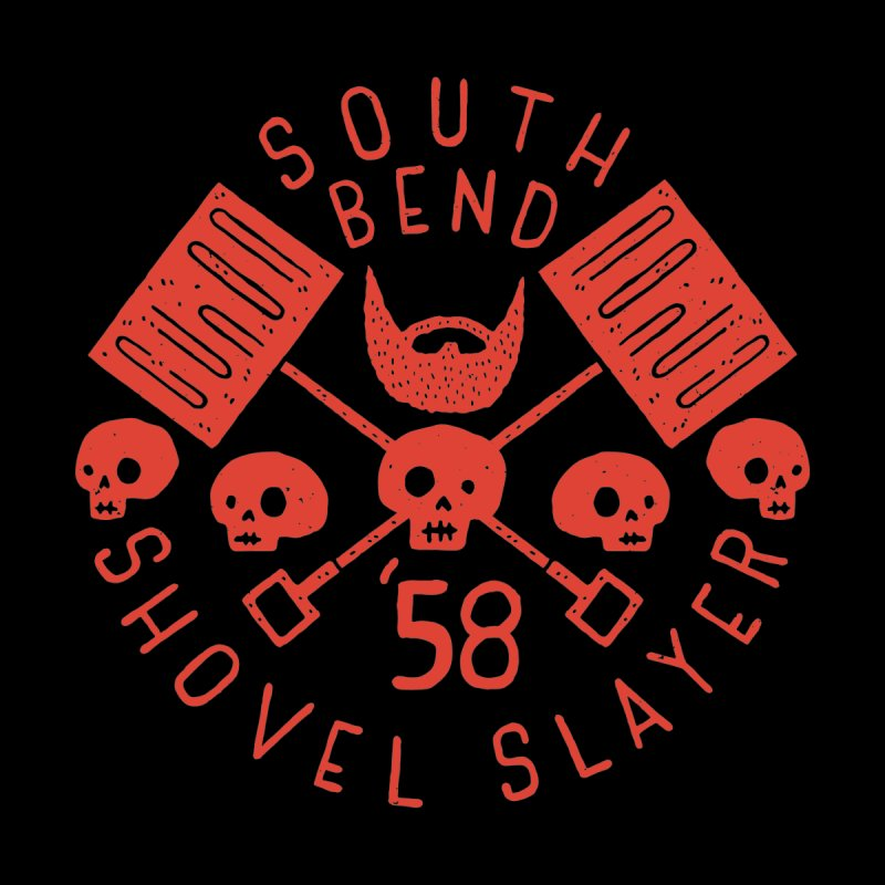 South Bend Shovel Slayer Men's Pullover Hoody by Rupertbeard
