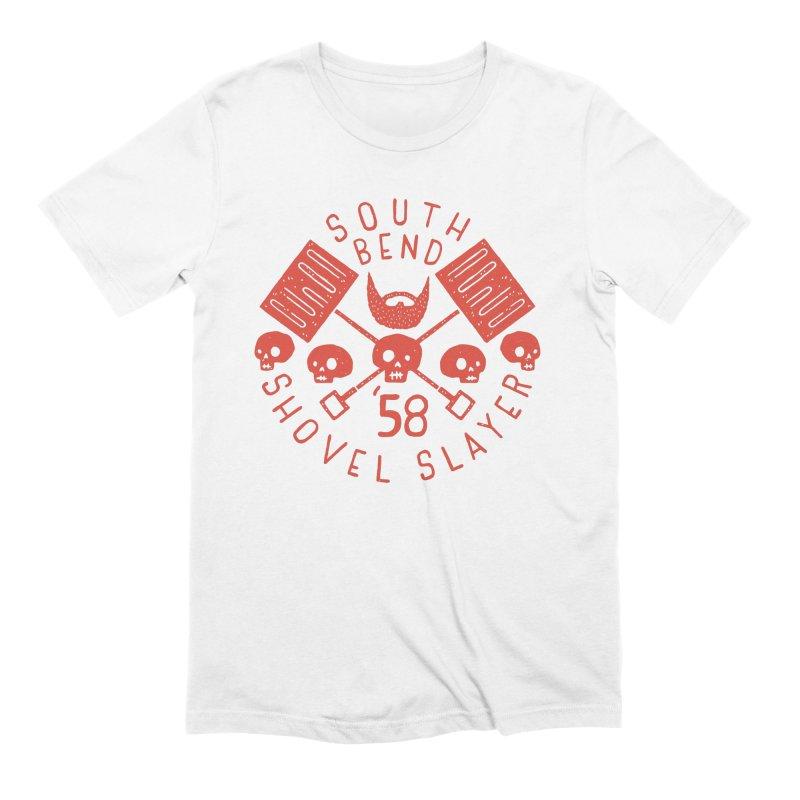 South Bend Shovel Slayer Men's Extra Soft T-Shirt by Rupertbeard