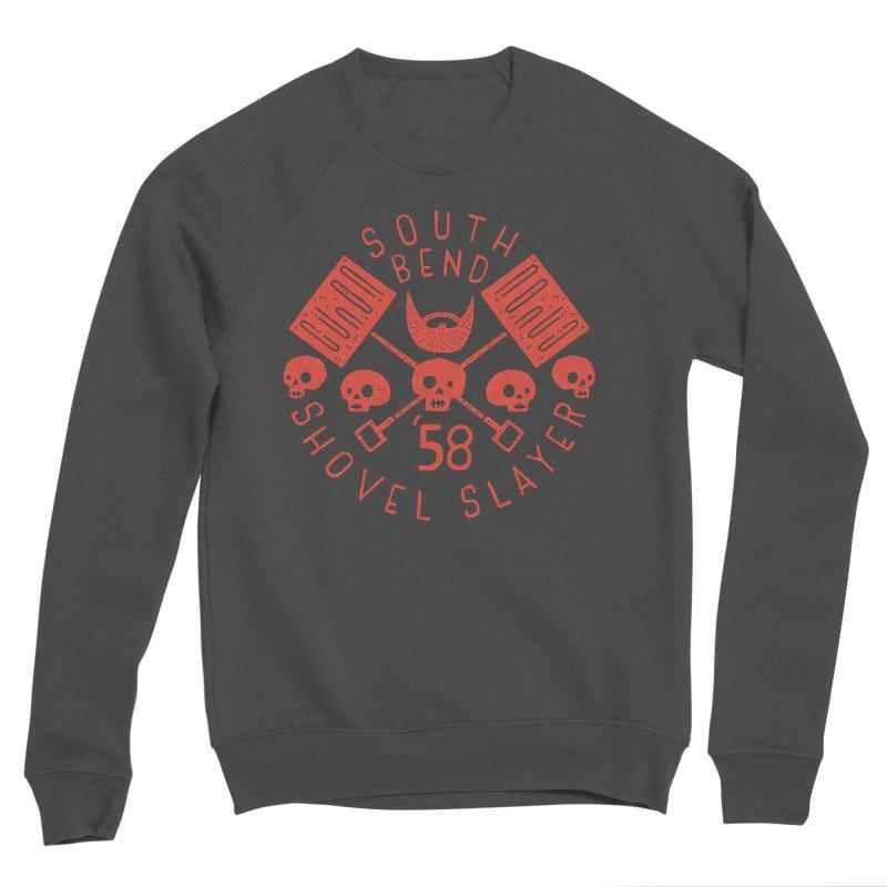 South Bend Shovel Slayer Women's Sponge Fleece Sweatshirt by Rupertbeard