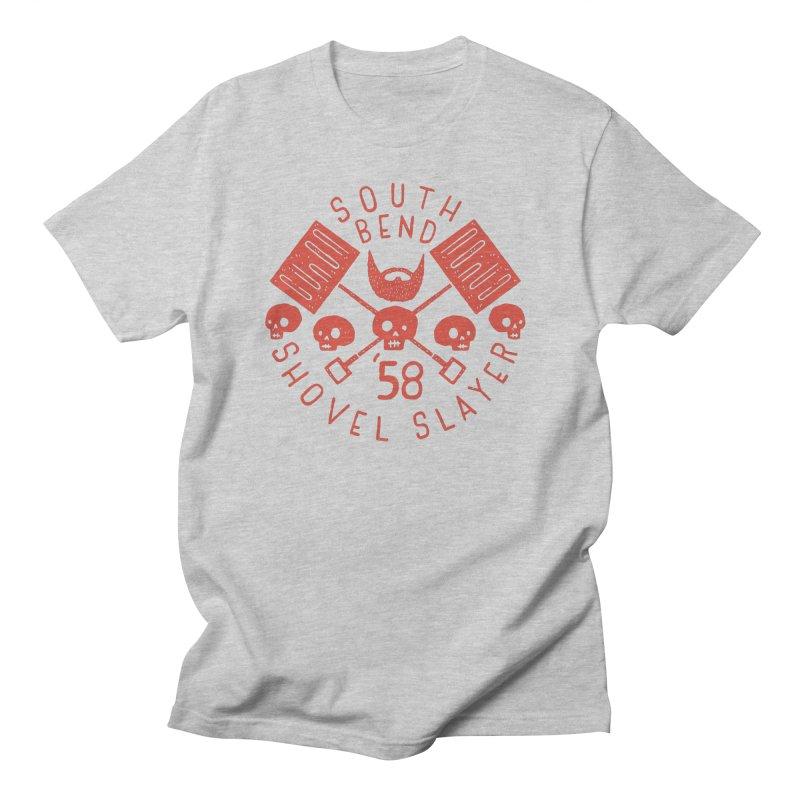 South Bend Shovel Slayer Men's Regular T-Shirt by Rupertbeard