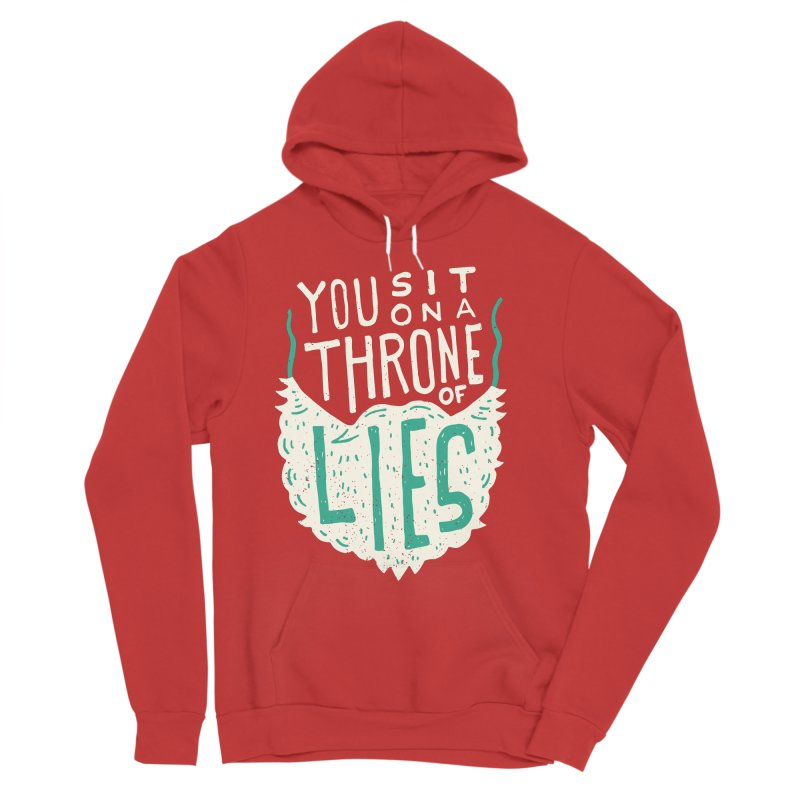 Throne Of Lies Women's Sponge Fleece Pullover Hoody by Rupertbeard