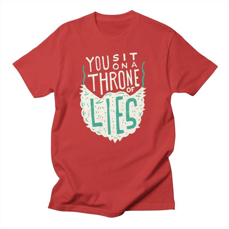 Throne Of Lies Men's T-Shirt by Rupertbeard