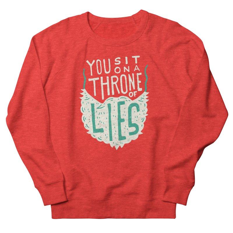 Throne Of Lies Men's Sweatshirt by Rupertbeard