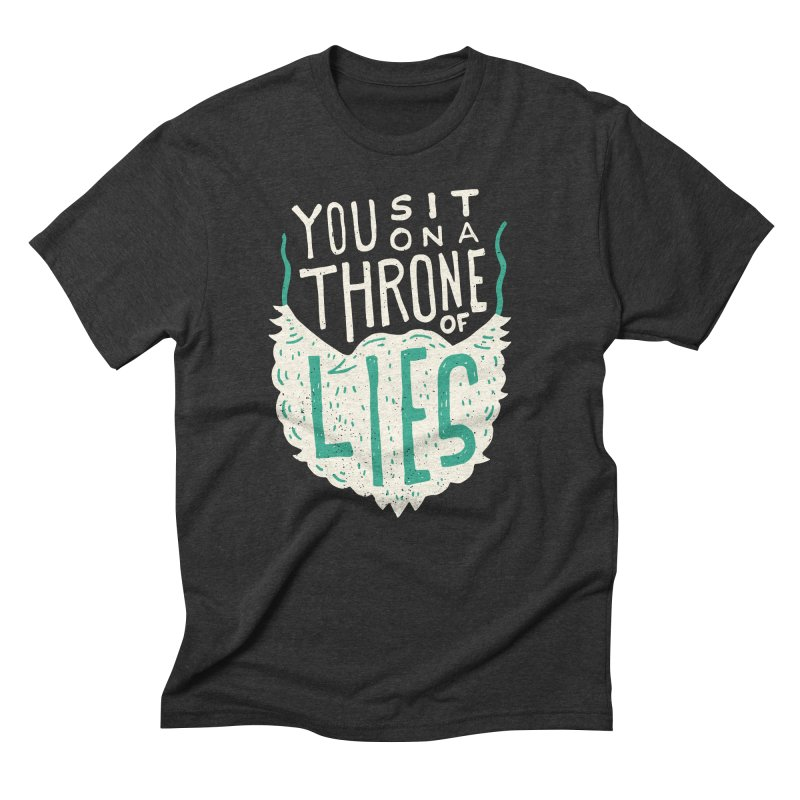 Throne Of Lies Men's Triblend T-Shirt by Rupertbeard