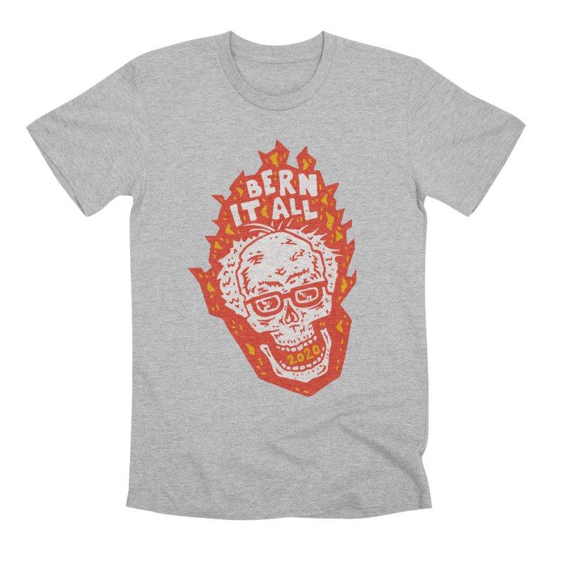 Bern It All Men's Premium T-Shirt by Rupertbeard