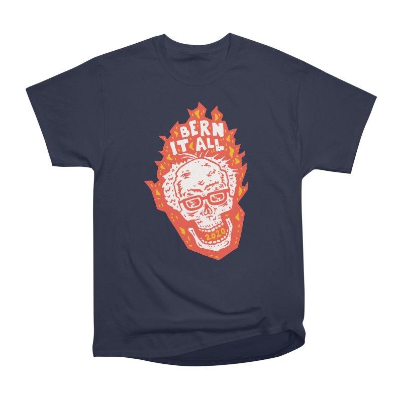 Bern It All Men's Heavyweight T-Shirt by Rupertbeard