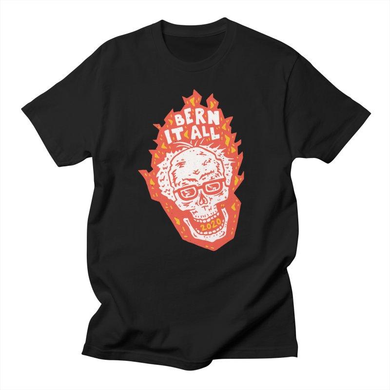 Bern It All Men's Regular T-Shirt by Rupertbeard