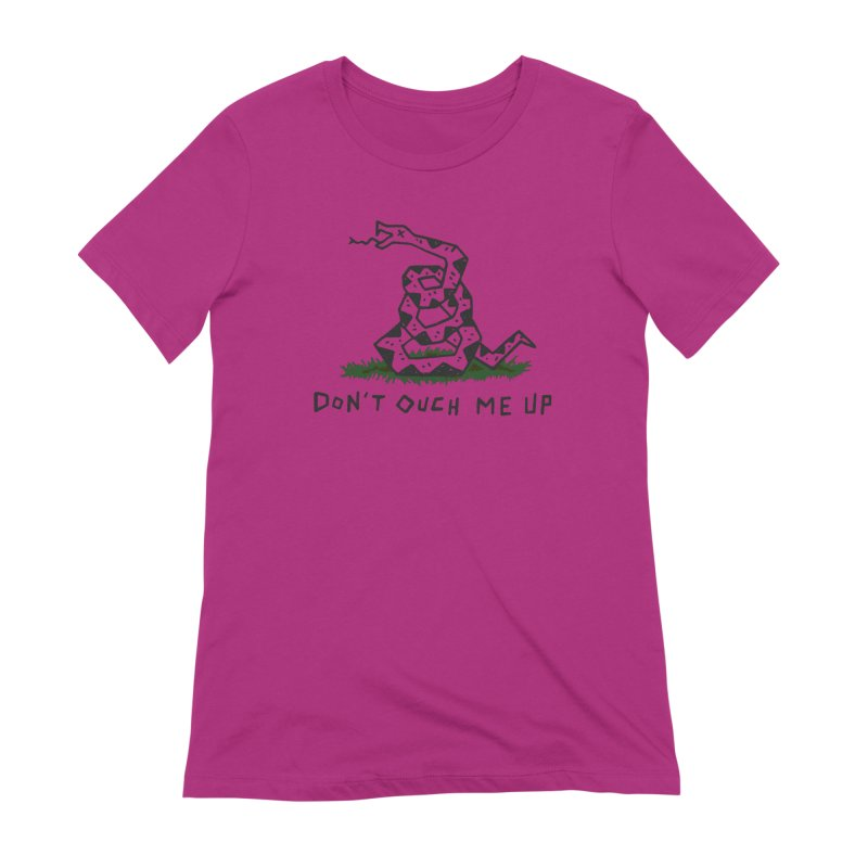Don't Ouch Me Up (Alt) Women's Extra Soft T-Shirt by Rupertbeard