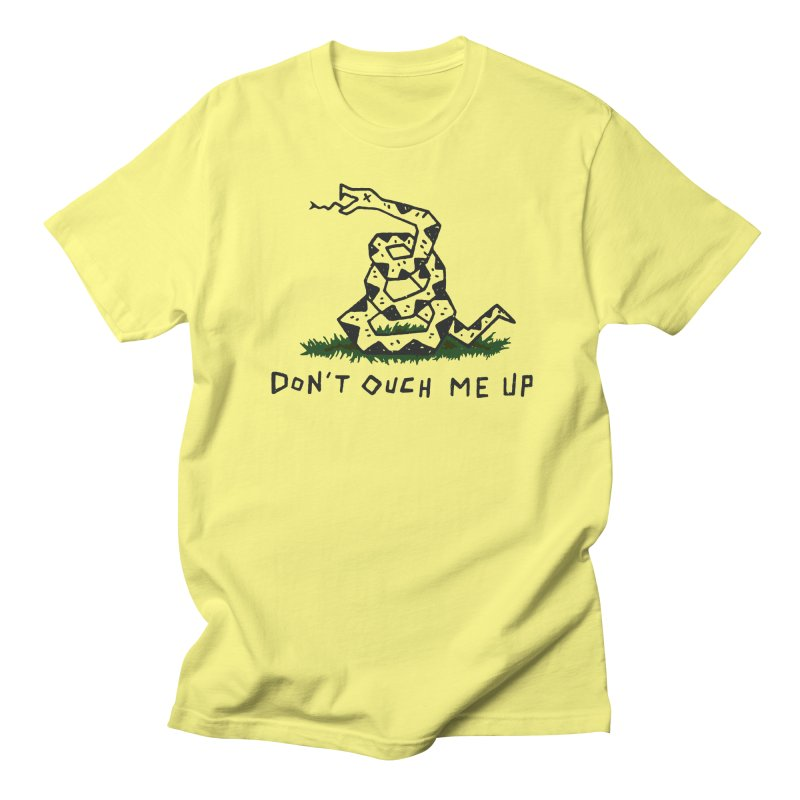 Don't Ouch Me Up (Alt) Men's Regular T-Shirt by Rupertbeard