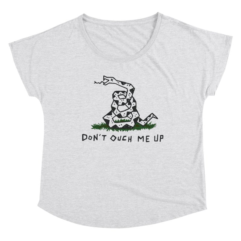 Don't Ouch Me Up Women's Scoop Neck by Rupertbeard
