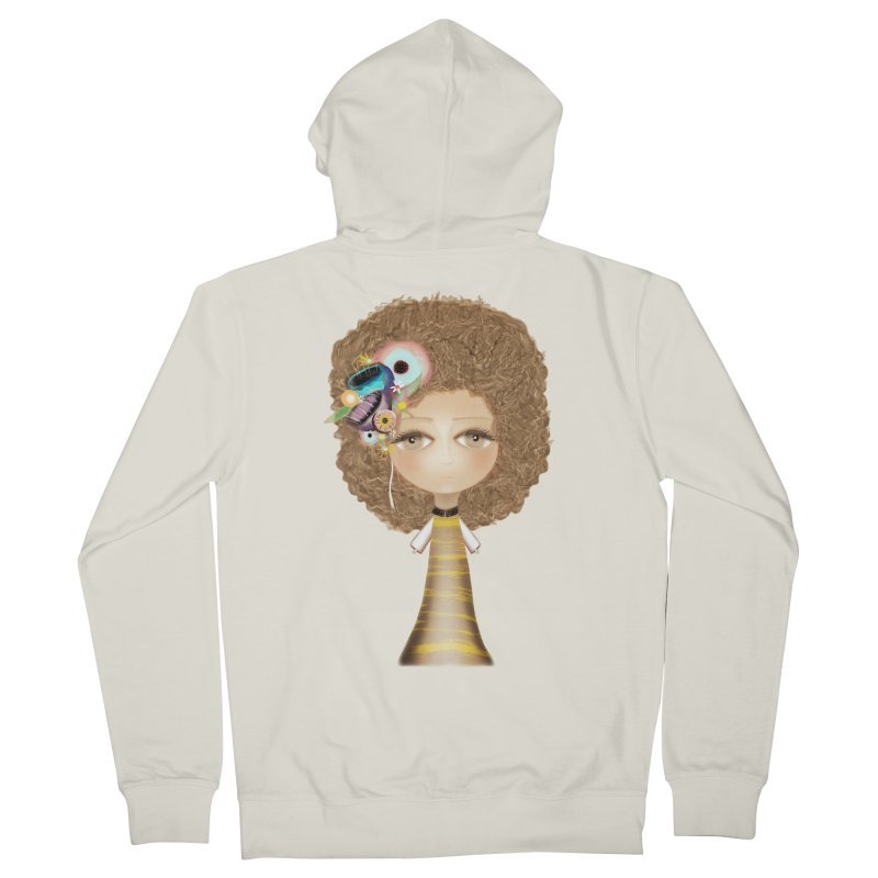 Loving can heal Women's French Terry Zip-Up Hoody by rupydetequila's Shop