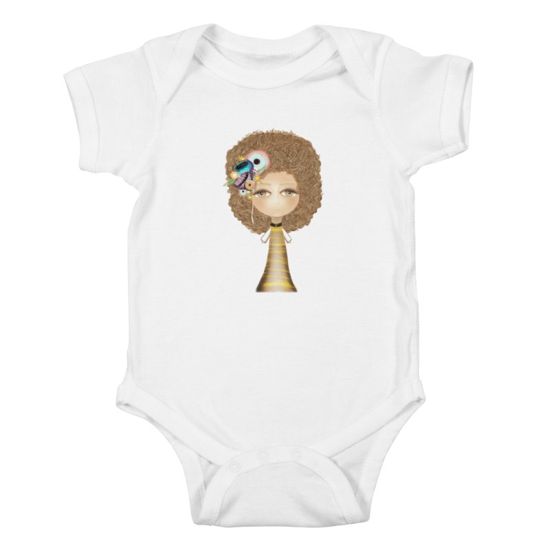 Loving can heal Kids Baby Bodysuit by rupydetequila's Shop