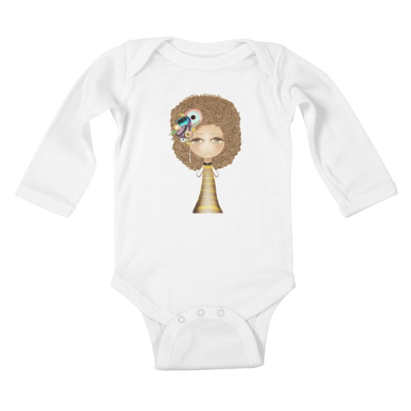 Loving can heal Kids Baby Longsleeve Bodysuit by rupydetequila's Shop
