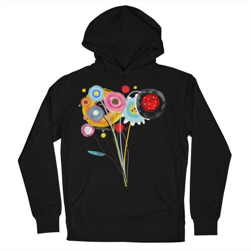 Wedding Bouquet Ranunculus Women's French Terry Pullover Hoody by rupydetequila's Shop