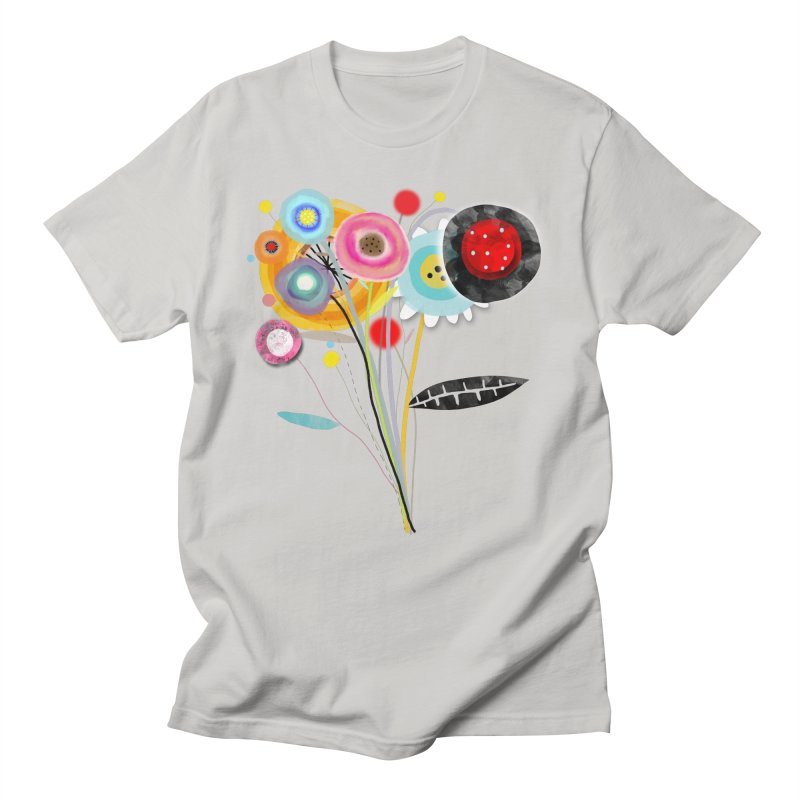 Wedding Bouquet Ranunculus Men's Regular T-Shirt by rupydetequila's Shop