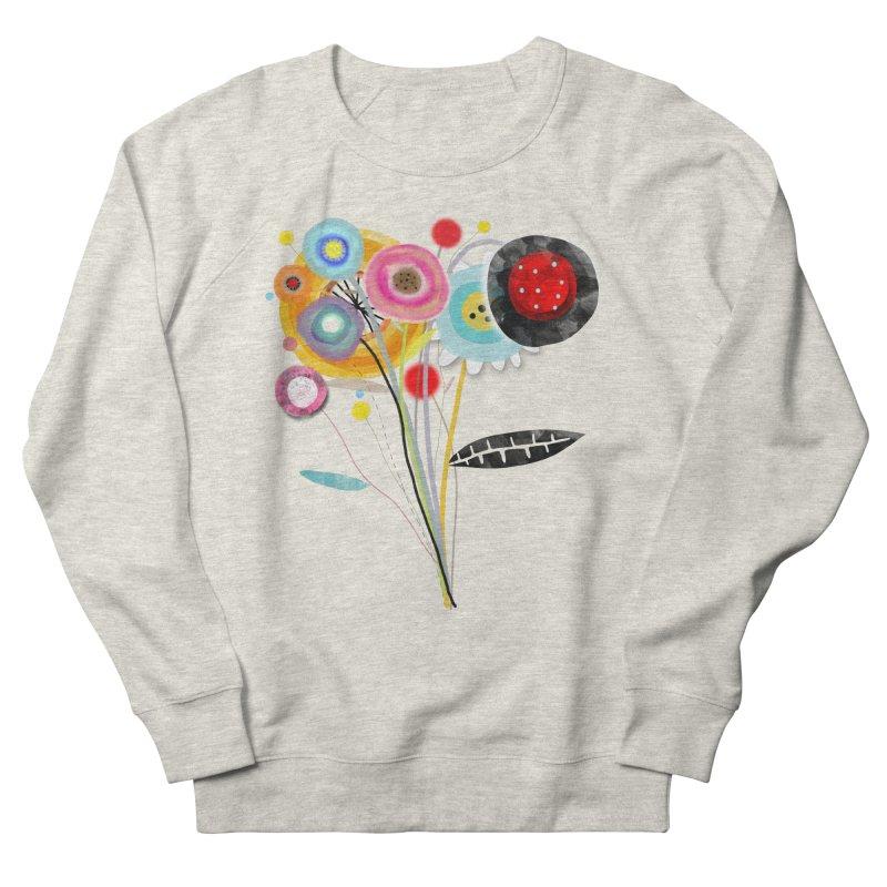Wedding Bouquet Ranunculus Men's French Terry Sweatshirt by rupydetequila's Shop