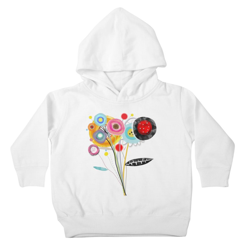 Wedding Bouquet Ranunculus Kids Toddler Pullover Hoody by rupydetequila's Shop