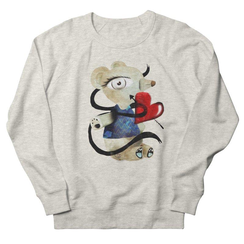 Love Old Teddy Bear Women's French Terry Sweatshirt by rupydetequila's Shop