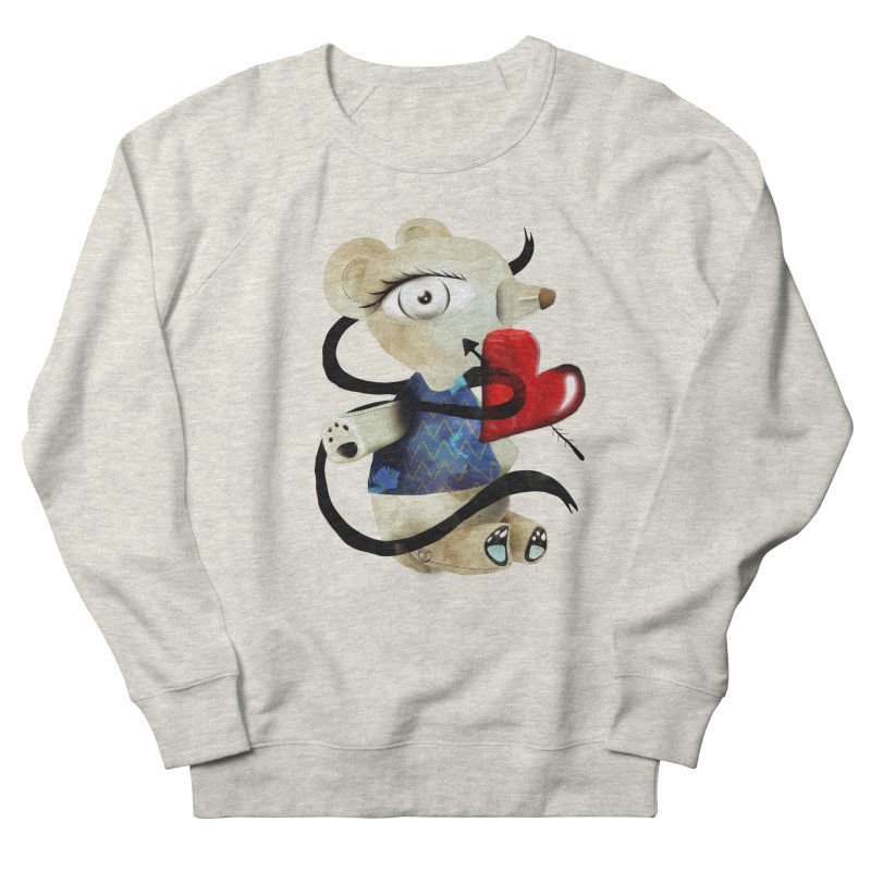 Love Old Teddy Bear Men's French Terry Sweatshirt by rupydetequila's Shop