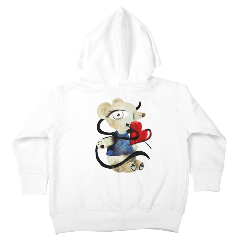 Love Old Teddy Bear Kids Toddler Zip-Up Hoody by rupydetequila's Shop