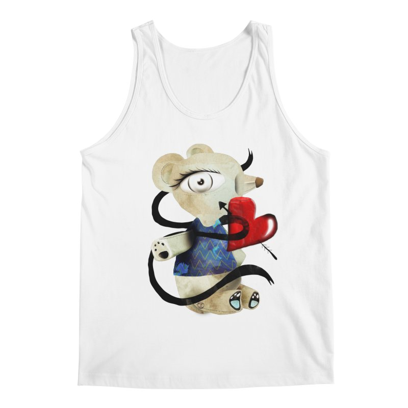 Love Old Teddy Bear Men's Regular Tank by rupydetequila's Shop