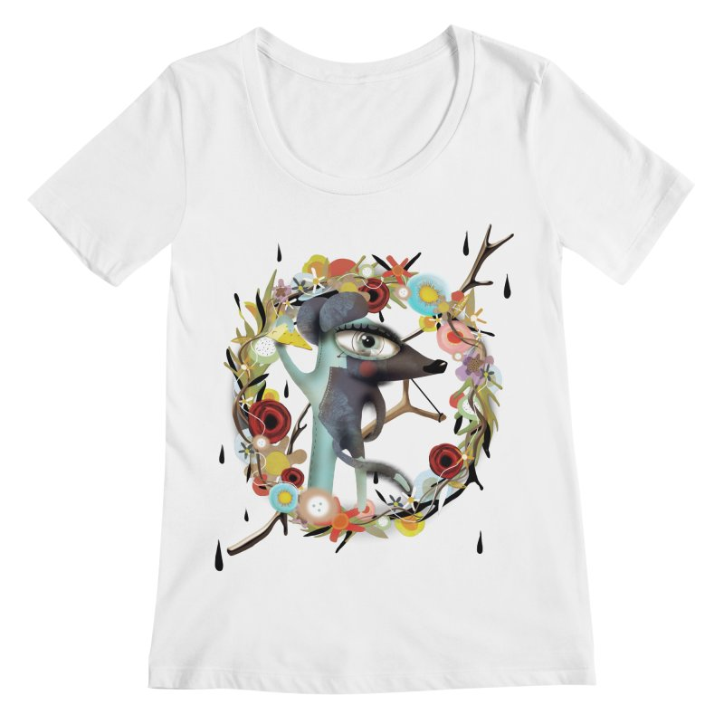 Every story has it's scars Women's Regular Scoop Neck by rupydetequila's Shop